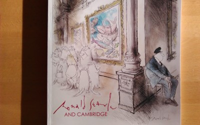 Ronald Searle: 'Obsessed with drawing'