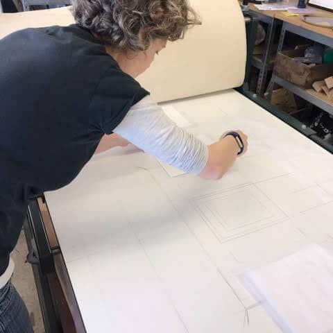 Drypoint etching - Printmaking - Extinction Rebellion (XR) White Rabbit subverted from Alice in Wonderland