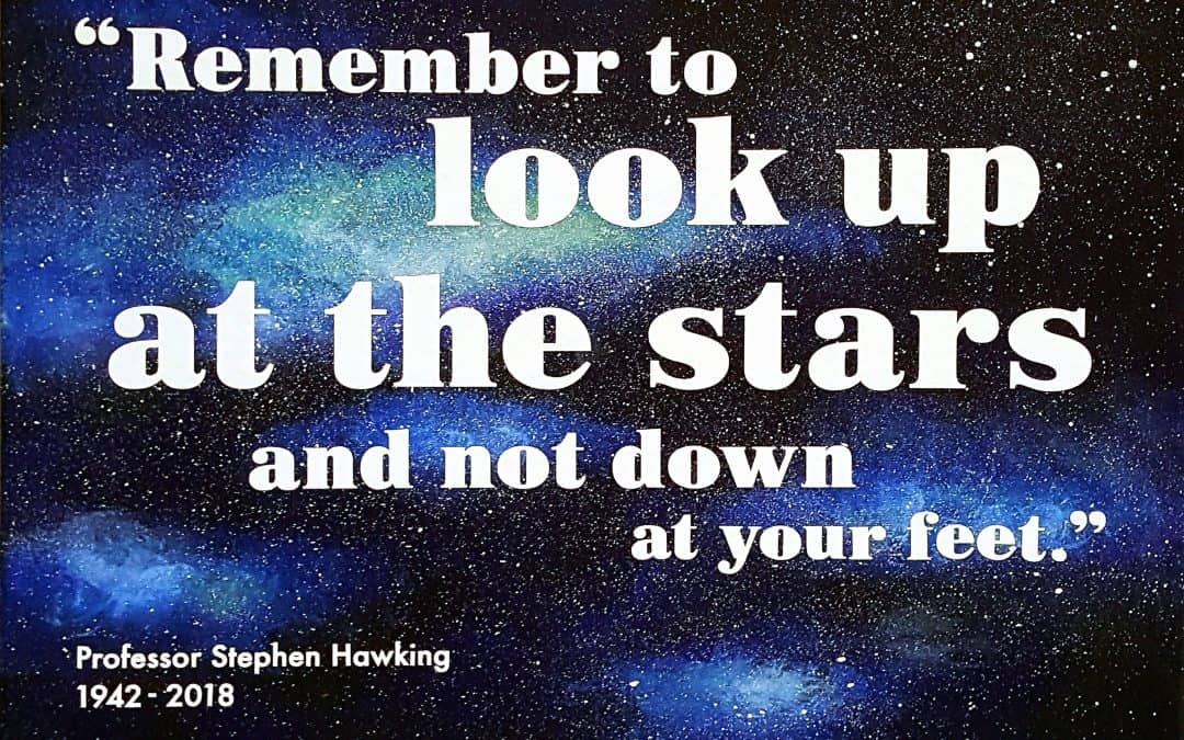 Look up at the stars